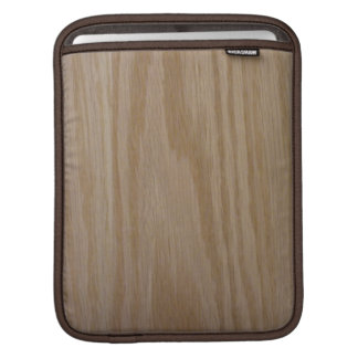 Natural Oak (Photo print of) Sleeve For iPads