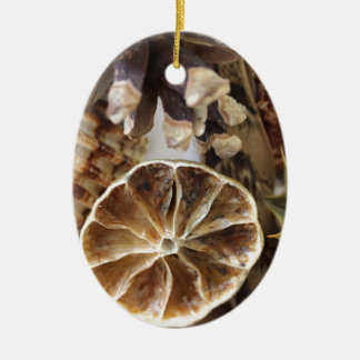 natural objects ceramic ornament