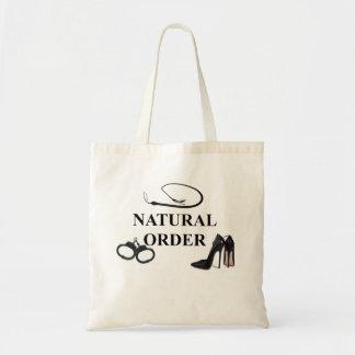 NATURAL ORDER TOTE BAG
