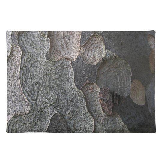 Natural Organic Brown Tree Bark Texture Placemat
