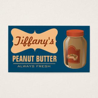 Natural | Organic Peanut Butter | Handmade Butter Business Card