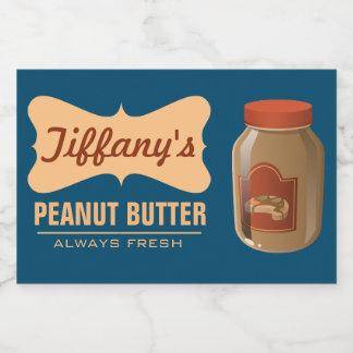Natural | Organic Peanut Butter | Handmade Butter Food Label