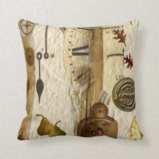 Natural Organic Throw Pillow