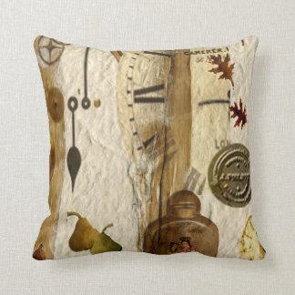 Natural Organic Throw Pillow