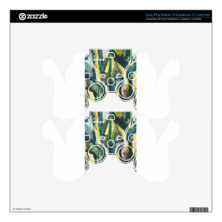 Natural Park divided by Thick Lines PS3 Controller Skins