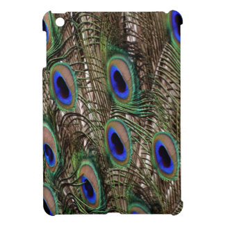 Natural Peacock  tail feathers with blue eyes Case For The iPad Mini
