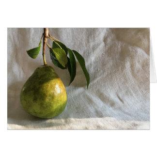 Natural Pear by Cynthia Turner Designs Card