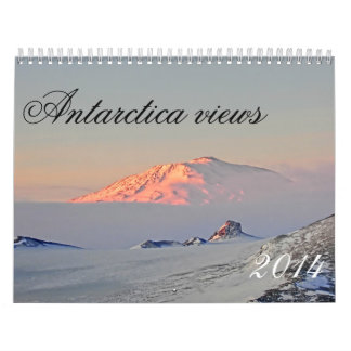 Natural phenomena in Antarctica Wall Calendar