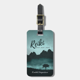 Natural Reiki Master and Yoga Mediation instructor Bag Tag