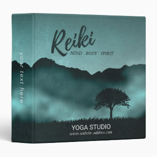Natural Reiki Master and Yoga Mediation instructor Binder