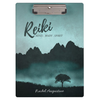 Natural Reiki Master and Yoga Mediation instructor Clipboard