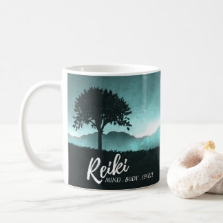 Natural Reiki Master and Yoga Mediation instructor Coffee Mug