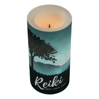 Natural Reiki Master and Yoga Mediation instructor Flameless Candle