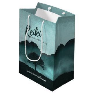 Natural Reiki Master and Yoga Mediation instructor Medium Gift Bag