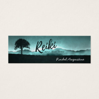 Natural Reiki Master and Yoga Mediation instructor Mini Business Card