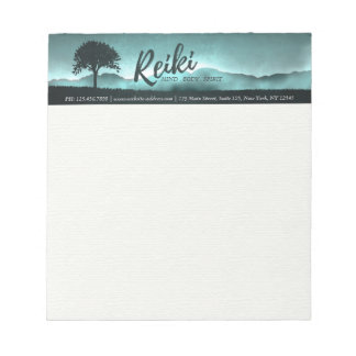 Natural Reiki Master and Yoga Mediation instructor Notepad