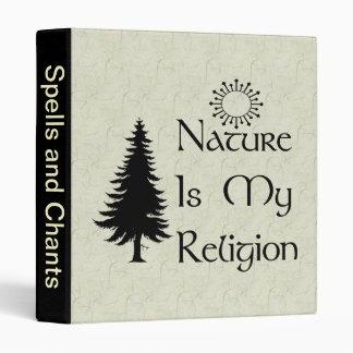 Natural Religion 3 Ring Binder