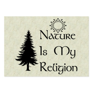 Natural Religion Large Business Cards (Pack Of 100)