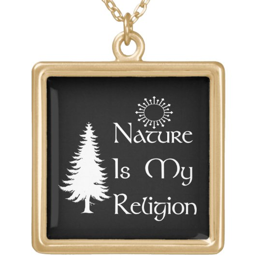 Natural Religion Gold Plated Necklace