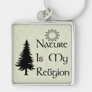 Natural Religion Keychain