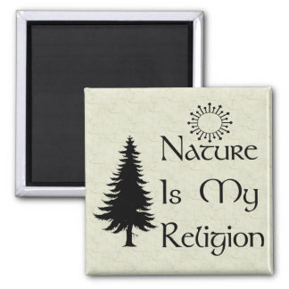 Natural Religion Magnet