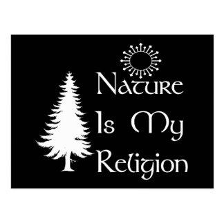 Natural Religion Postcard