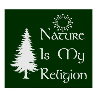 Natural Religion Poster