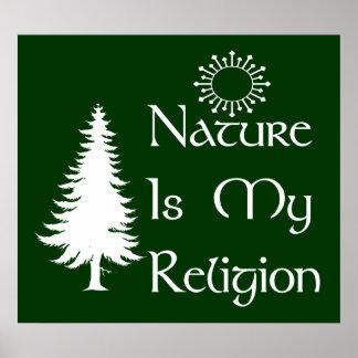 Natural Religion Poster