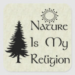 Natural Religion Stickers