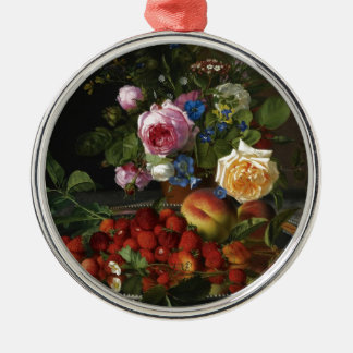 Natural remuneration metal ornament