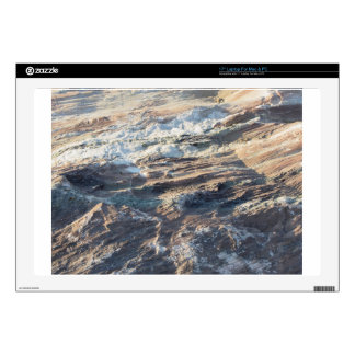 """Natural rock texture and surface background 17"""" laptop decal"""