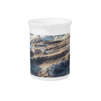 Natural rock texture and surface background pitcher