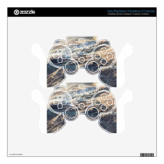 Natural rock texture and surface background PS3 controller decal