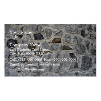 Natural Rough Stone Wall Texture Business Card