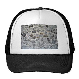 Natural Rough Stone Wall Texture Hats