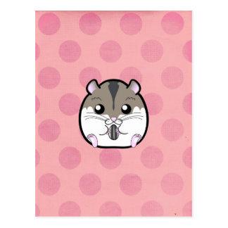 Natural Russian Dwarf Hamster Postcard