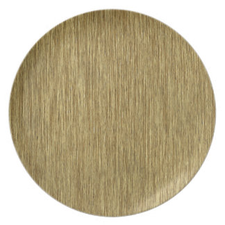 Natural Rustic Grainy Wood Background Party Plates