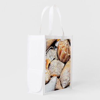Natural Seashells Market Totes