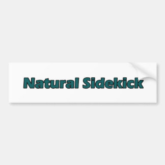 Natural Sidekick Car Bumper Sticker