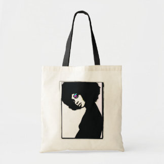 Natural Silhouette Budget Tote Bag