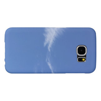 Natural Sky Blue Samsung Galaxy S6, Barely There Samsung Galaxy S6 Case