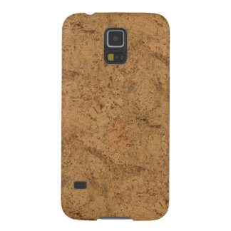 Natural Smoke Cork Bark Wood Grain Look Case For Galaxy S5