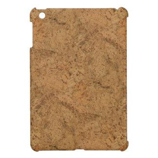 Natural Smoke Cork Bark Wood Grain Look Cover For The iPad Mini