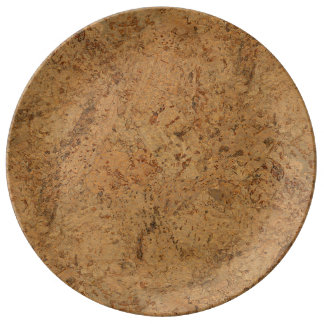 Wood floor plates zazzle for Cork flooring wood grain look