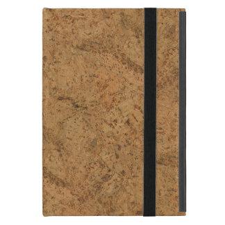 Natural Smoke Cork Bark Wood Grain Look iPad Mini Case