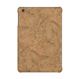 Natural Smoke Cork Bark Wood Grain Look iPad Mini Covers