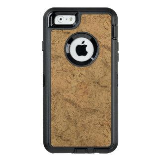 Natural Smoke Cork Bark Wood Grain Look OtterBox iPhone 6/6s Case