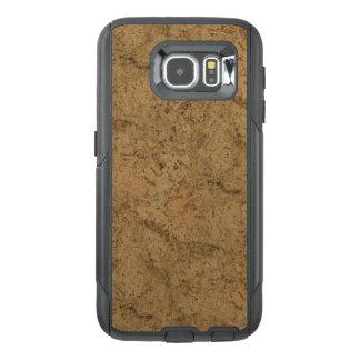 Natural Smoke Cork Bark Wood Grain Look OtterBox Samsung Galaxy S6 Case