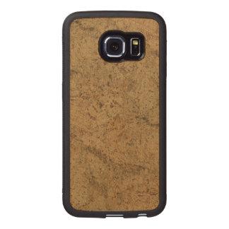 Natural Smoke Cork Bark Wood Grain Look Wood Phone Case