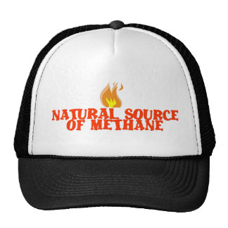 Natural source of METHANE GAS Mesh Hat